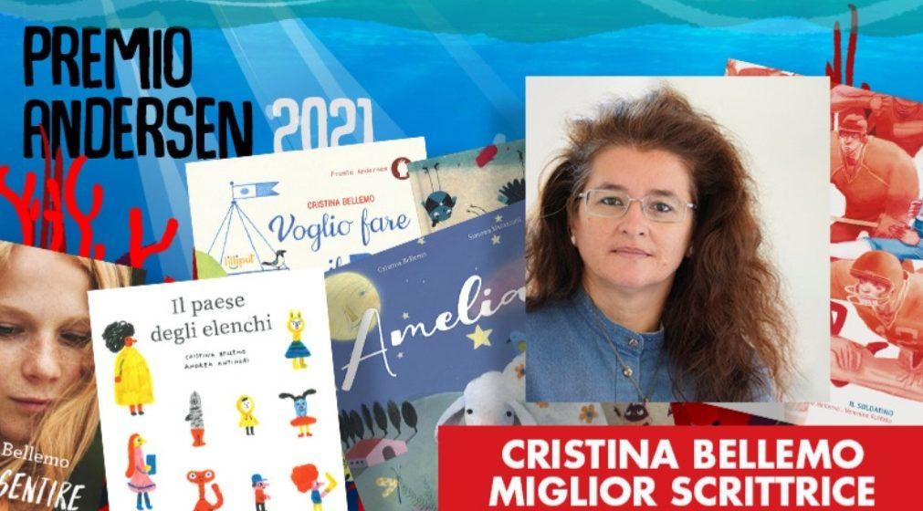 Cristina Bellemo. Premio Andersen come migliore scrittrice